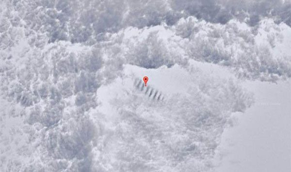 staircase in antarctica