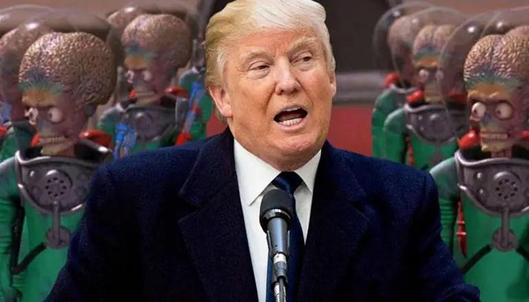 trump aliens