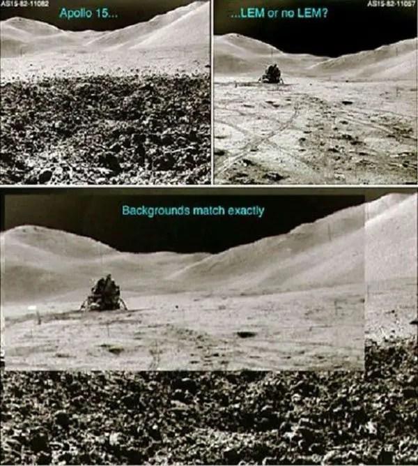 moon landing fake