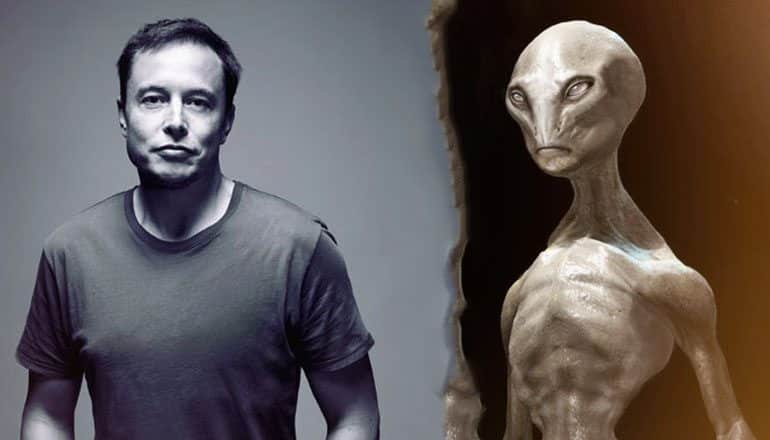musk aliens might live among us