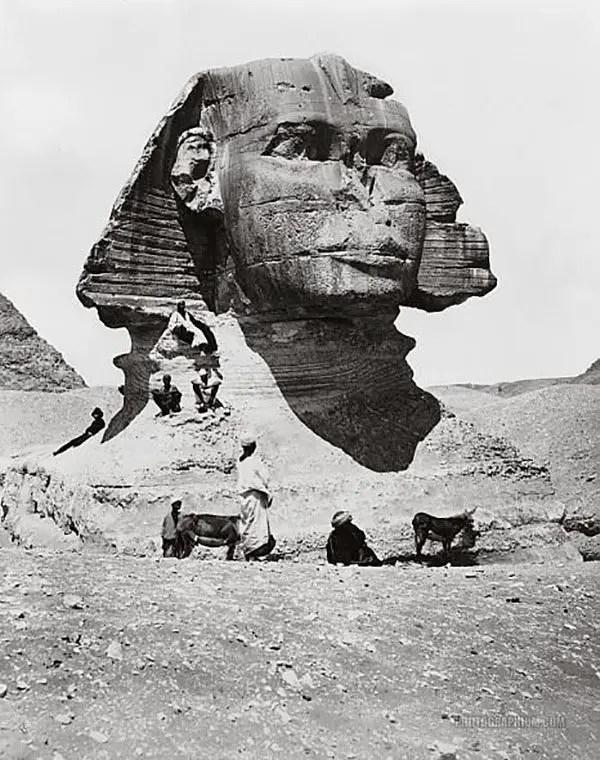 great sphinx hidden chambers