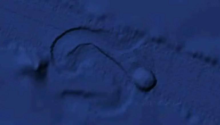 ufo ocean floor