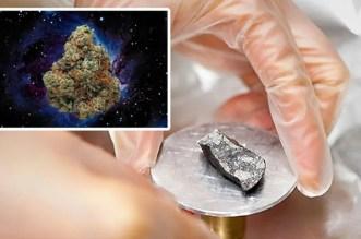 THC on Meteorite