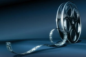 Reel of Film Stock Photo