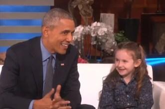 President Obama UFOs Ellen Show