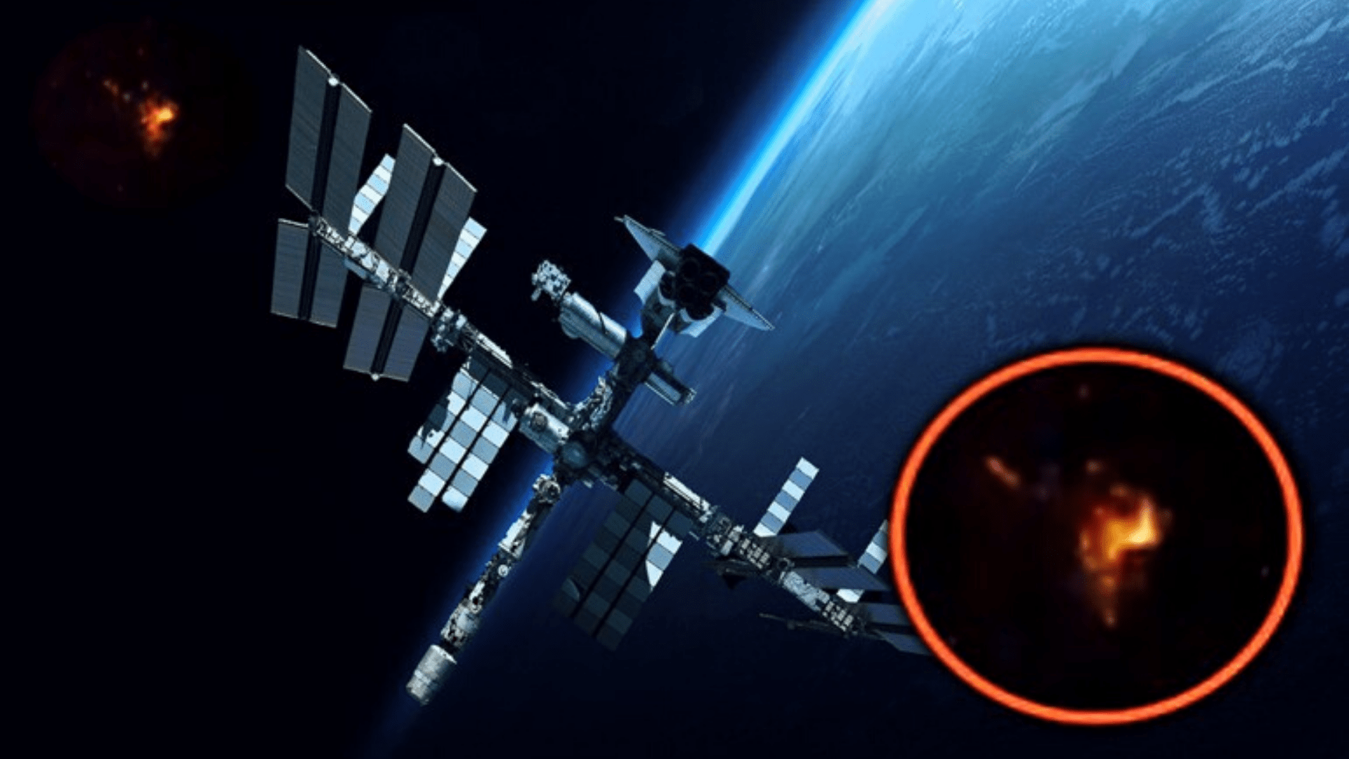 The Moment Russian ISS Cosmonaut Noticed UFO Ships ~ UFO NEWS