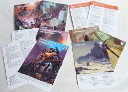 Legacy Handout Sheets