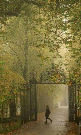 Trinity College gates, Cambridge