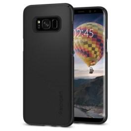 Spigen Galaxy S8(Plus) Thin Fit – Black (SF coated) 571CS21676