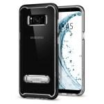 Spigen Galaxy S8 Crystal Hybrid – Black (SF coated) 565CS20835