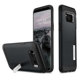 Spigen Galaxy S8(Plus) Slim Armor – Metal Slate 571CS21121