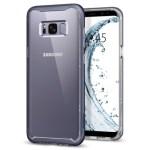 Spigen Galaxy S8(Plus) Neo Hybrid Crystal – Gray Orchid 571CS21656