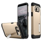 Spigen Galaxy S8(Plus) Slim Armor – Gold Maple 571CS21123