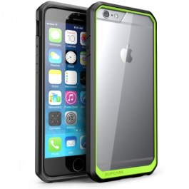 Supcase Unicorn Beetle Clear Bumper iPhone 6/6s Green