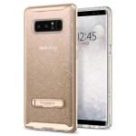 Spigen Galaxy Note 8 Case Crystal Hybrid Glitter Gold Quartz