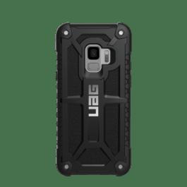 Galaxy S9 Monarch Case-Black/silver logo-Retail Packaging