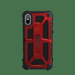 iPhone X (5.8 Screen) Monarch Case- Crimson/Black/Black Logo- Retail Package