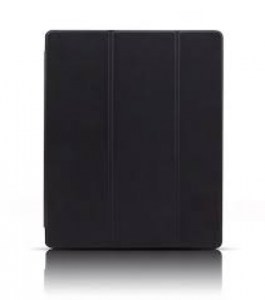 9.7-inch new iPad 2017 Joy-Color Ultrathin Clear Case( Black)