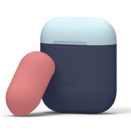 AirPods Duo Case – Body-Jean Indigo Top-Pastel Blue, Italian Rose