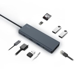 JCPAL LINX USB-C 9-Port Hub