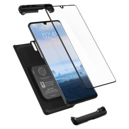 Spigen HUAWEI P30 Pro Case Thin Fit 360 Black (Glass Screen Protector) L37CS25731