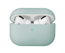 Uniq Lino Hybrid Liquid Silicon AirPods Pro Case – Mint Green