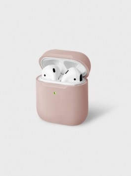 Uniq Lino Hybrid Liquid Silicon AirPods Pro Case – Pink