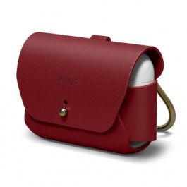 AirPods Pro Leather Case – Red