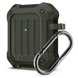 Spigen AirPods Case Tough Armor – Military Green