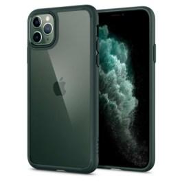 Spigen iPhone 11 Pro Max Ultra Hybrid – Midnight Green