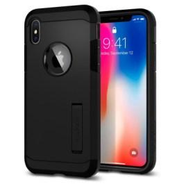Spigen iPhone X Tough Armor – Matte Black 057CS22160
