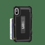 iPhone X (5.8 Screen) Trooper Case- Black/Silver Logo- Retail Package