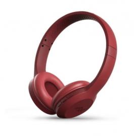 IFROGZ Audio – Resound Wireless Bluetooth Headphone With Mic – Red