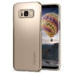 Spigen Galaxy S8(Plus) Thin Fit – Gold Maple 571CS21674