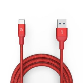 CASA M100+ USB3.1 Gen2 USB-C to USB-A Cable – Red