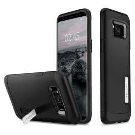 Spigen Galaxy S8(Plus) Slim Armor – Black 571CS21122