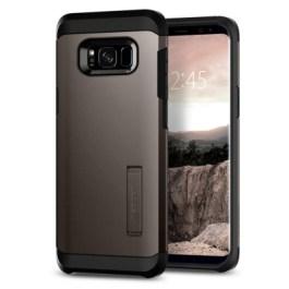 Spigen Galaxy S8(Plus) Tough Armor – Gunmetal 571CS21693