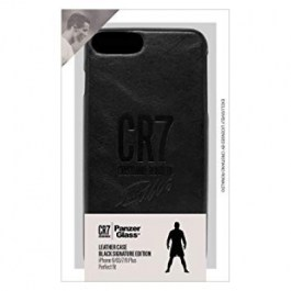 CR7 Leather Case iPhone 6/6s/7/8 Plus_Black Signature