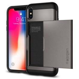 Spigen iPhone X Slim Armor CS – Gunmetal 057CS22156