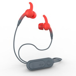 IFROGZ Sound Hub Plugz Wireless Earbuds-FG-Gray/Red