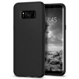 Spigen Galaxy S8 Liquid Crystal – Matte Black 565CS21613
