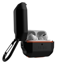 UAG AirPods Pro Hard Case – Black/Orange