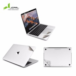 JCPAL MacGuard 5 in 1 Skin Set for MacBook Pro 16″ – Silver