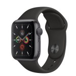 Series 5 40mm Grey Aluminum | Black Sport Band