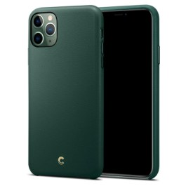 Ciel iPhone 11 Pro Max Basic Leather – Forest Green