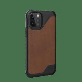 UAG iPhone 12/Pro 6.1 Metropolis LT – Leather Brown