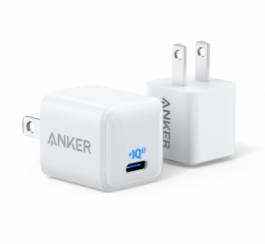 Anker PowerPort III Nano 20W for iPhone 12 – White