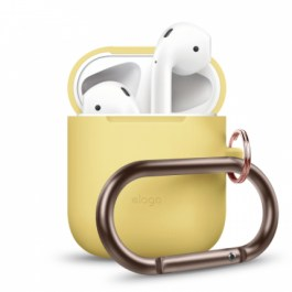 AirPods Hang Case – Yellow