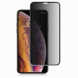 Preserver Privacy Glass Screen Protector (0.33mm, Black) for iPhone 11 Pro Max/Xs Max