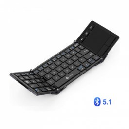 iClever BK08 Portable Tri-folding Bluetooth Keyboard with TouchPad
